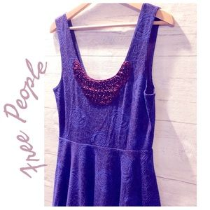 Free People Rock Princess Rose and Tulle Dress